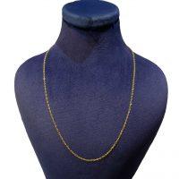 خرید                     زنجیر طلا 18عیار زنانه کانیار گالری مدل Z2