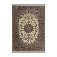 خرید                     فرش  دستبافت  دو و نیم متری طرح اصفهان کد 1105692