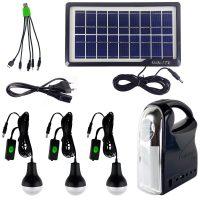 خرید                     سیستم روشنایی خورشیدی جی دی لایت مدل GD7