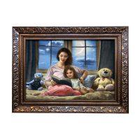 خرید                     تابلو فرش دستبافت طرح مهر مادر کد ۲۶۶۳۱۳۶