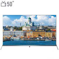 خرید                     تلویزیون ال ای دی هوشمند تی سی ال مدل 50P8S سایز 50 اینچ