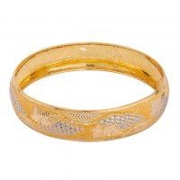 خرید                     النگو طلا 18 عیار زنانه کد AL21G-4