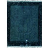 خرید                     فرش دستبافت رنگ شده نیم متری کد 13949