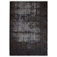 خرید                     فرش دستبافت رنگ شده دو و نیم متری طرح وینتج کد 13958