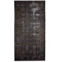 خرید                     فرش دستبافت رنگ شده سه و نیم متری طرح وینتیج کد 971170