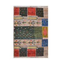 خرید                     گبه دستباف یک متری کد 1008