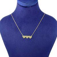 خرید                     گردنبند طلا 18 عیار زنانه کانیار گالری کد 2455