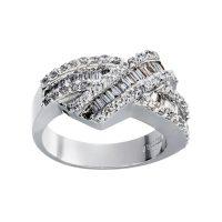 خرید                     انگشتر طلا 18 عیار زنانه جواهری سون مدل 2427