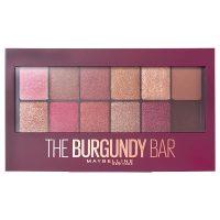 خرید                     پالت سایه چشم میبلین مدل The Burgundy Bar