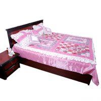 خرید                     سرویس خواب ثمین مدل Pink Roze دو نفره 4 تکه