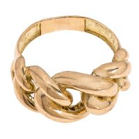 خرید                     انگشتر طلا 18 عیار زنانه گالری یارطلا کد AN20