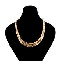 خرید                     زنجیر طلا 18 عیار گالری طلاچی مدل پهن