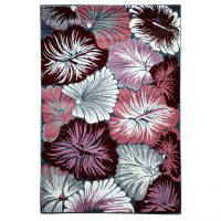 خرید                     فرش ماشینی سهند  کد SL15.US طرح فانتزی رنگ نقره ای