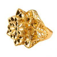 خرید                      انگشتر طلا 18 عیار گالری طلا باران چیچک