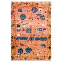 خرید                     گبه دستباف شش متری سی پرشیا کد 171443