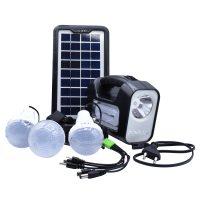 خرید                     سیستم روشنایی خورشیدی جی دی پلاس مدل GD-8 مجموعه 6 عددی