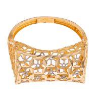 خرید                      انگشتر طلا 18 عیار زنانه گالری یارطلا مدل فیوژن کد ANF06