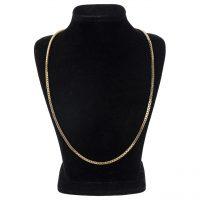 خرید                     گردنبند طلا 18 عیار گوی گالری مدل G24