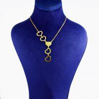 خرید                     گردنبند طلا 18 عیار زنانه کانیار گالری کد 6915