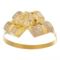 خرید                     انگشتر طلا 18 عیار کد 108