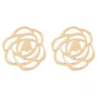خرید                     گوشواره طلا 18 عیار رزا مدل EG19