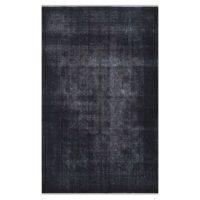 خرید                     فرش دستبافت رنگ شده پنج و نیم متری طرح وینتیج کد 990484
