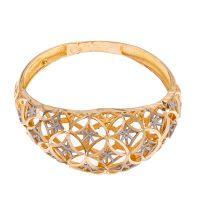 خرید                      انگشتر طلا 18 عیار زنانه گالری یارطلا مدل فیوژن کد ANF05
