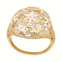 خرید                     انگشتر طلا 18 عیار زنانه گالری یارطلا کد ANF07