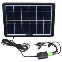 خرید                     پنل خورشیدی سی سی لمپ مدل CL-680 ظرفیت 8 وات