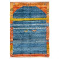 خرید                     گبه دستباف سه و نیم متری سی پرشیا کد 171474