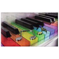 خرید                     فرش ماشینی جانگل طرح Piano کد 1170