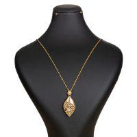 خرید                     گردنبند طلا 18 عیار زنانه گالری یار طلا کد PL35B-Z