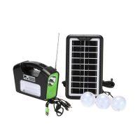 خرید                     سیستم روشنایی خورشیدی جی دی سوپر مدل GD-16 مجموعه 6 عددی