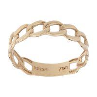 خرید                     انگشتر طلا 18 عیار زنانه کانیار گالری کد AT23