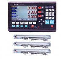 خرید                     خط کش دستگاه فرز مدل dro-520 مجموعه 3 عددی همراه نمایشگر دیجیتال