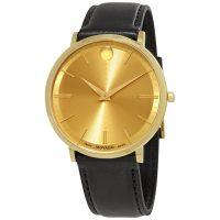خرید                     ساعت مچی عقربه ای مردانه موادو مدل 0607156