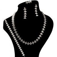 خرید                     ست نقره زنانه بهارگالری مدل Shell Jewel کد S4