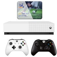 خرید                     مجموعه کنسول بازی مایکروسافت مدل Xbox One S All Digital ظرفیت 1 ترابایت به همراه ۲۰ عدد بازی