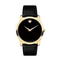 خرید                     ساعت مچی عقربه ای مردانه موادو مدل 0607014