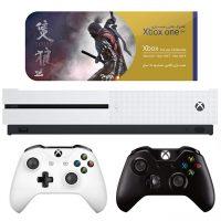 خرید                     مجموعه کنسول بازی مایکروسافت مدل Xbox One S  ظرفیت 1 ترابایت به همراه ۲۰ عدد بازی
