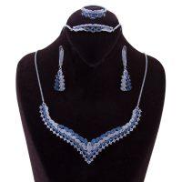 خرید                       نیم ست نقره زنانه بازرگانی میلادی کد NTR_040