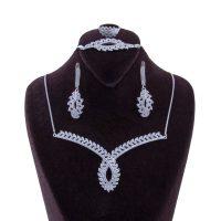 خرید                      ست نقره زنانه بازرگانی میلادی کد NTR_035