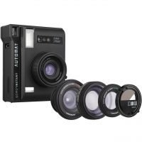 خرید                     دوربین چاپ سریع لوموگرافی مدل Automat-Playa Jardin به همراه سه لنز