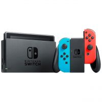 خرید                     کنسول بازی نینتندو مدل Switch Neon Blue and Neon Red Joy-Con