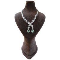 خرید                     گردنبند نقره زنانه مدل 01034