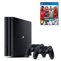خرید                     مجموعه کنسول بازی سونی مدل Playstation 4 Pro ریجن 2 کد CUH-7216B ظرفیت 1 ترابایت