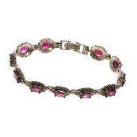 خرید                     دستبند نقره زنانه مدل 141444