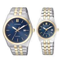 خرید                     ست ساعت مچی عقربه ای سیتی زن مدل BM7334-66L  EW2294-61L