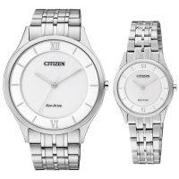 خرید                     ست ساعت مچی عقربه ای زنانه و مردانه سیتی زن مدل AR0070-51A EG3220-58A