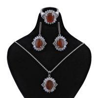 خرید                       نیم ست نقره زنانه بازرگانی میلادی کد NTR_074